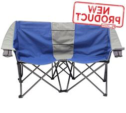 2 Person Camping Chair Outdoor Loveseat Conversation Lounge
