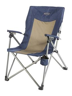 Kamp-Rite 3 Position Hard/Arm Reclining Chair w/Cup Holder S