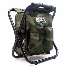 Camp Chair Seat Stool Backpack Insulated Bag Hiking Fishing