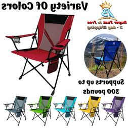 Camping And Sports Chair With Ripstop Polyester And Breathab