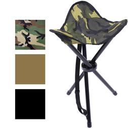 Camping Collapsible Stool & Carry Strap Case Camping Folding