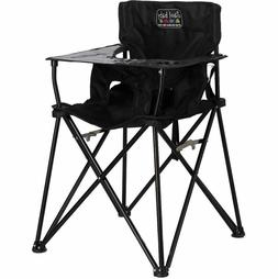 CIAO! Baby High Chair Black Folding Portable Toddler Camping