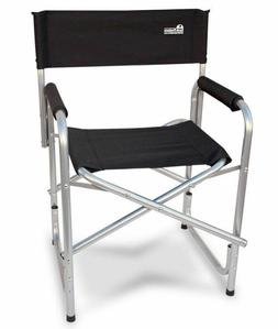"""Earth """"Extra Heavy Duty"""" Folding Director's Chair w/ Extra H"""