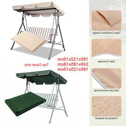 Garden Swing Top Cover Camping Seat Home Yard Canopy Replace