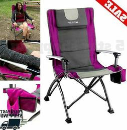 Heavy duty Portable Camping Chair Folding High Back Outdoor