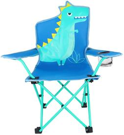 Kaboer Kids Outdoor Folding Lawn And Camping Chair With Cup