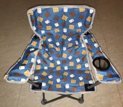 kids youth chair smores camping outdoors steel