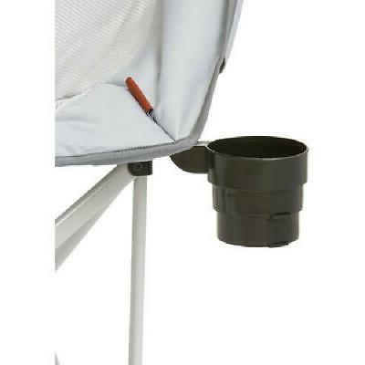 Ozark Oversized Camp Chair Camping Gray