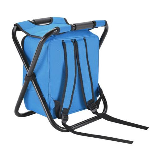 Portable Camping Fishing Chair Stool Outdoor Travel