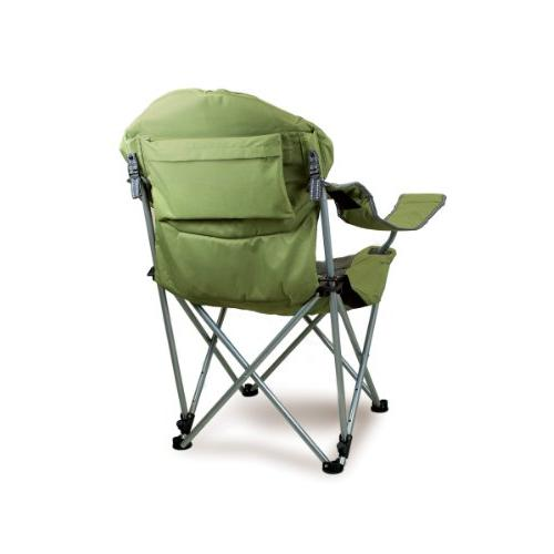 Reclining Camp Chair Sage Gray