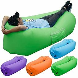 Maple Leaf Inflatable Sofa Portable Inflatable Lounge Chair