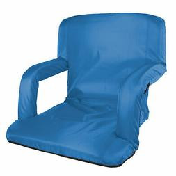 STANSPORT MULTI FOLD PADDED ARM CHAIR BLUE 420D POLYESTER CA