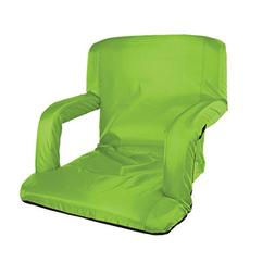 Stansport Multi Fold Padded Arm Chair, Lime