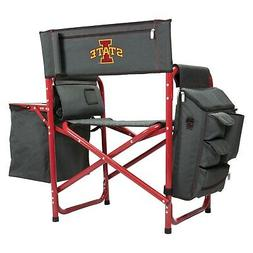 Picnic Time NCAA Fusion Iowa State Cyclones Gray/Red Camp Ch