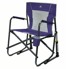 Outdoor Picnic Camping Steel Frame Mesh Chair with Beverage