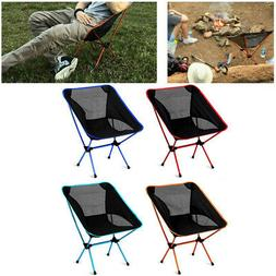FOLDING CAMPING CHAIR FESTIVAL HIKING FISHING GARDEN INDOOR