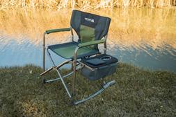 Outdoor Portable Camping Rocking Chair Lightweight Folding