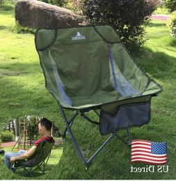 Outdoor Portable Folding Chair Camping Picnic BBQ Beach Seat