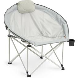 Oversize Camping Lawn Cozy Chair Tailgate Comfort In Style O