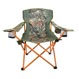 Oversized Outdoor Portable Camping Chair Heavy Duty Camo Lou