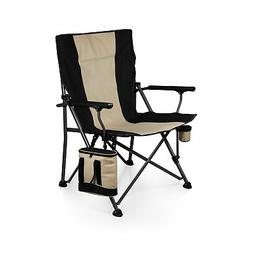 Picnic Time Family of Brands Folding Camp Chair with Cooler