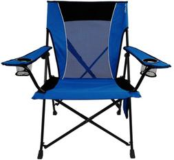 Portable Dual Lock Portable Camping and Sports Chair with 2