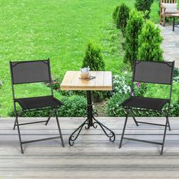 Set of 4 Folding Chairs Seating Outdoor Camping Deck Garden