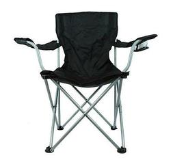 Camping Outdoor Sports Beach Fold Out Chair w/Cup Holder Dar